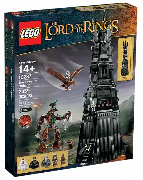LEGO® The Lord Lord Lord of the Rings 10237 The Tower of Orthanc™ NEU OVP NEW MISB NRFB d46370