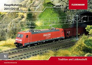 Fleischmann 990117 Catalogue principal 2017/2018 (Piste N) - NEUF