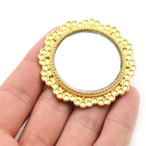Miniature Dollhouse Accessories Scene Model Mini Mirror B$