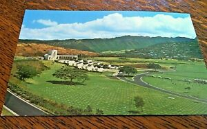 Vintage-Postcard-Hawaii-Gardens-Of-The-Missing-Unposted-1950s-Hawaiian-Color-USA