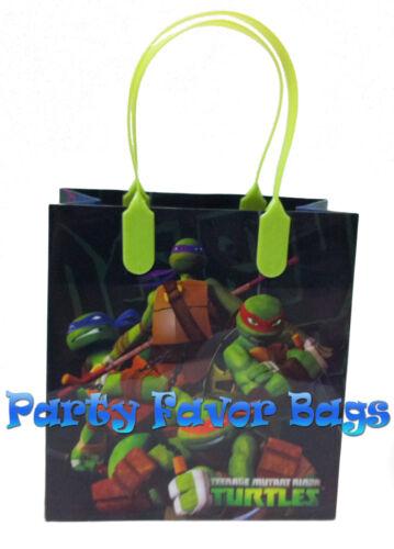 12 pcs Teenage Mutant Ninja Turtles Party Favor Bags Candy Treat Birthday Gift