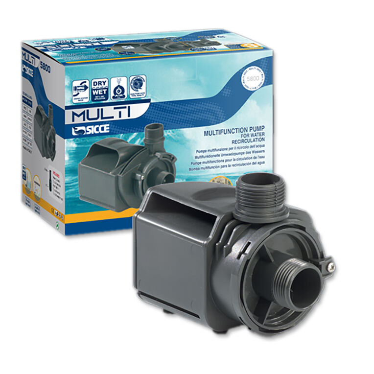 MULTI Recicurlation Pump for Aquarium Fish Tank by Sicce