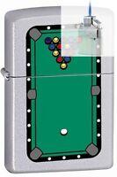 Zippo 205 Pool Table Rack Of Balls Lighter & Z-plus Insert Bundle