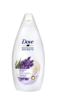 2pk Dove Relaxing Ritual Lavender Oil And Rosemary Extract Body Wash 500ML