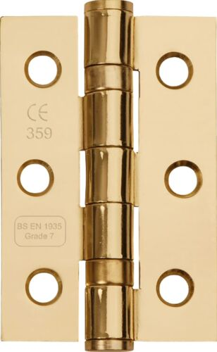 UK Quality Ball Bearing Hinges 3 Inch 76mm FD30 Fire Rated CE7 Price Per Hinge