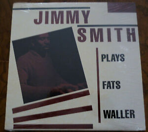 JIMMY-SMITH-Plays-Fats-Waller-LP-Vinyl-Album-FACTORY-SEALED-1981