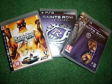 3 PLAYSTATION 3 PS3 Juegos Saints Row 2 segundo Saints Row el tercer 3 + IV cuarto