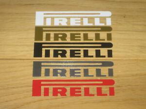 2-PIRELLI-Decals-Stickers-Bike-Motorbike-Fairing-Mudguard-Fender-Helmet-Wheels
