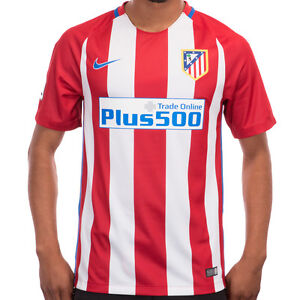 Details About Nike Atletico Madrid Original Home Stadium Soccer Jersey 2016 17 Adult Sizes