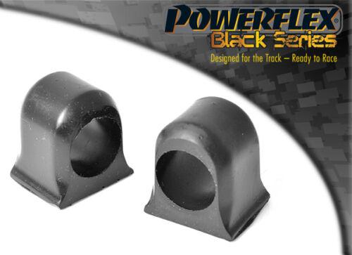 Powerflex Negro Delantero Anti Barra De Rodillo Soporte Interior PFF16-105BLK Para Fiat Uno