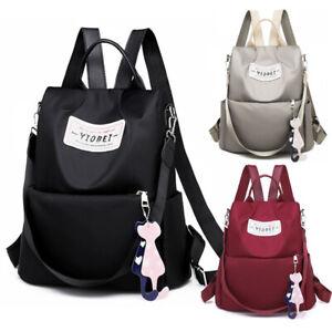 Women-Waterproof-Anti-Thef-Backpack-Lightweight-Handbag-Medium-Shoulder-Bag