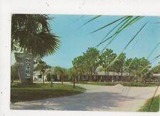 Hi-Lander Motel Highland Avenue Mount Dora Florida 1962 Postcard USA 566a