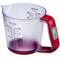 Taylor Multi Use Digital Scale Measuring Cup For Kitchen Or Lab