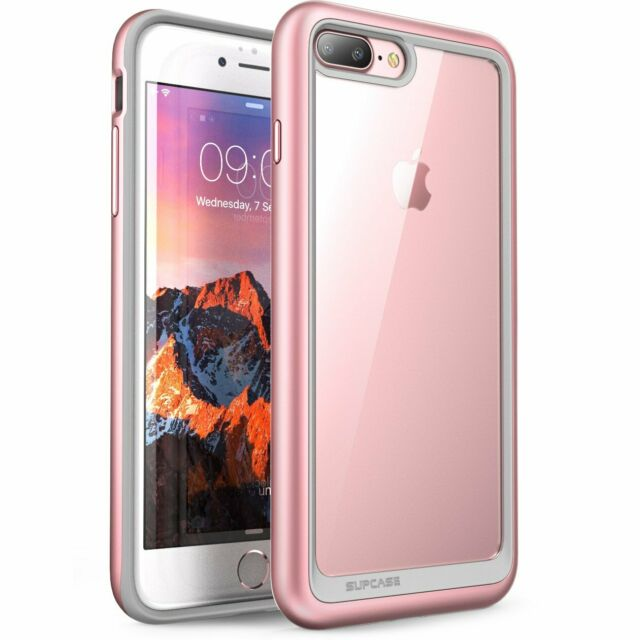 sale retailer dd012 633b4 iPhone 8 Plus Case SUPCASE Unicorn Beetle Style Premium Hybrid Protective  Clear