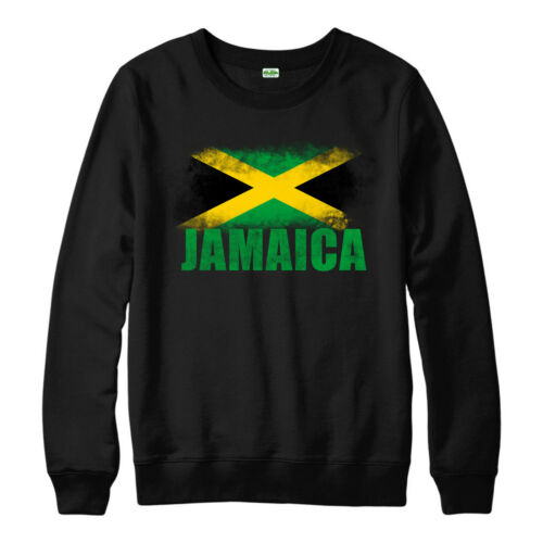 Jamaica Flag Jumper Country Souvenir love Vintage Adults And Kids Gift Top