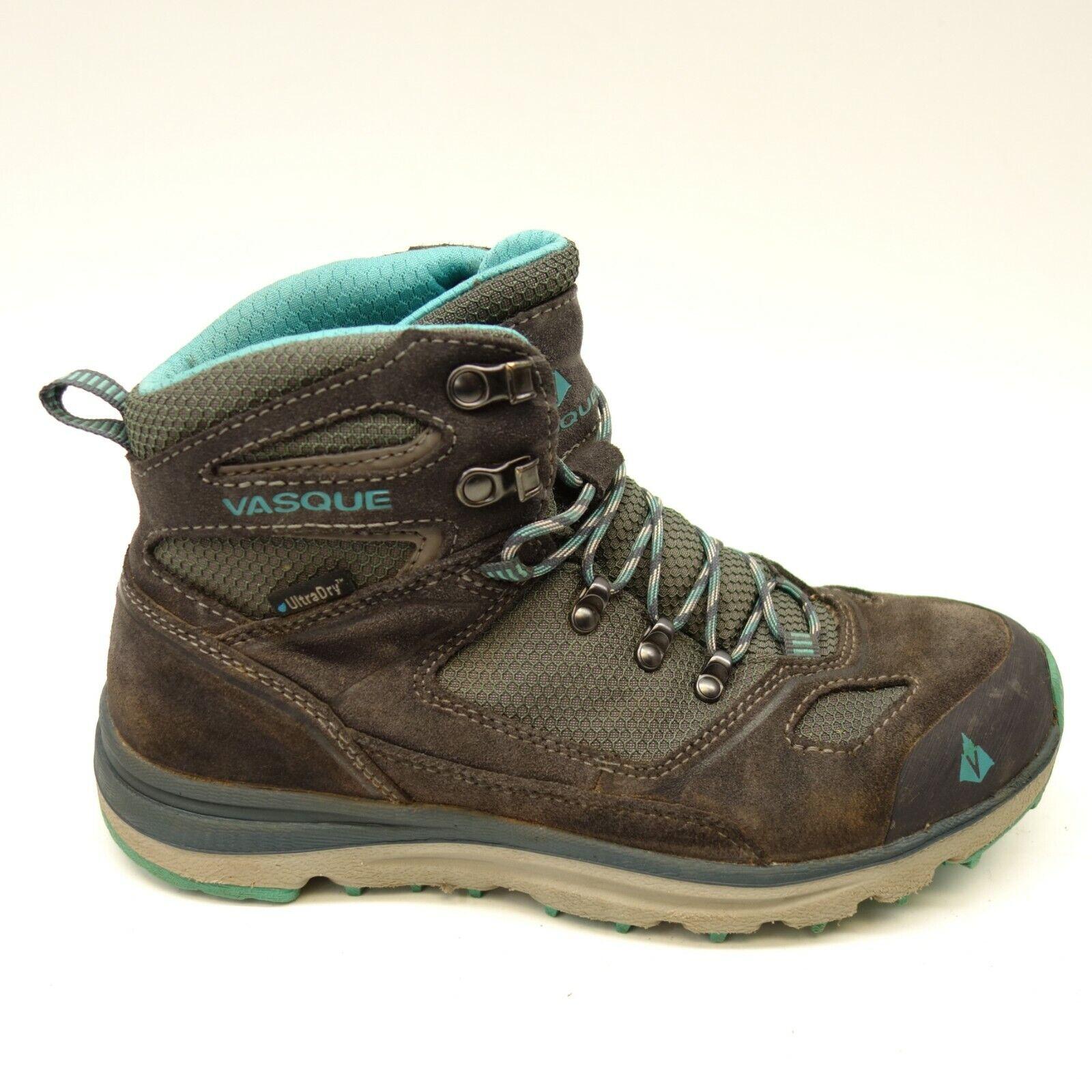 Vasque Womens Mesa Trek Ultradry Athletic Hiking Trail Outdoor Mid Boots Sz 7M