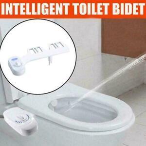 Toilet-Seat-Attachment-Fresh-Water-Spray-Non-Electric-Bidet-M1J2-New-Mechan-R0T0