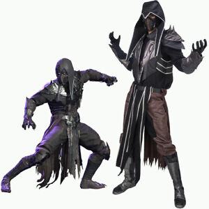 Mortal Kombat MK11 Noob Saibot Cosplay Costume Prop Mask