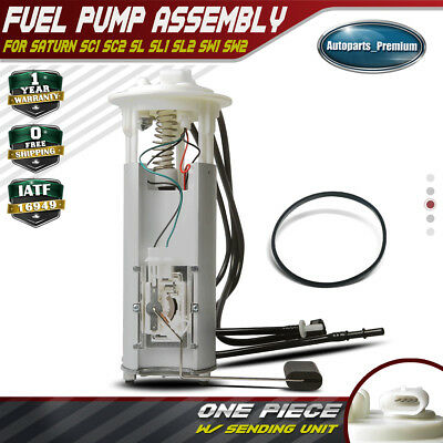 Electrical Fuel Pump Assembly for 1997 Saturn SL1 /& SL2 L4-1.9L ONLY
