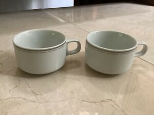 Midwest Express Airlines Coffee Cup Mug Abco Japan 2 cups