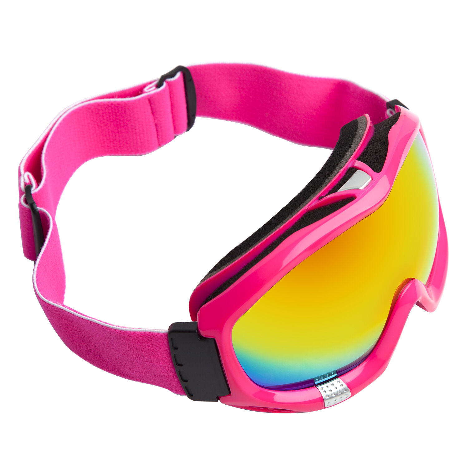 Ski Snow Snowboard Goggles Adult Anti-Fog  orange CA & PC Double Lens Pink Frame  cheap sale