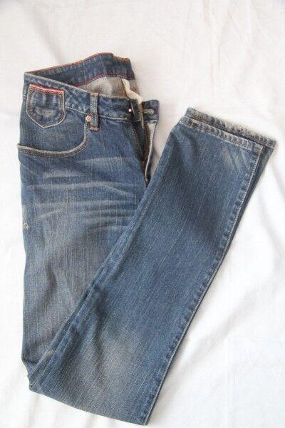 "Original jeans DC slim  "" legging Selvedge "" Blau 30  US 39   40  FR neuf"