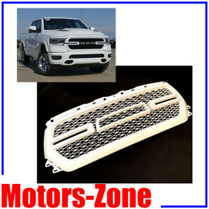 painted white pw7 grill for 2019 2020 dodge ram 1500 grille w smoke led lights ebay details about painted white pw7 grill for 2019 2020 dodge ram 1500 grille w smoke led lights