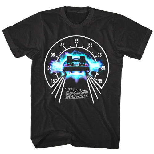 OFFICIAL Back to The Future Men/'s T-shirt DeLorean Speedometer Time Machine
