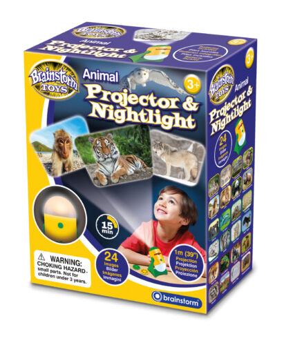 BRAINSTORM Toys Animali Proiettore /& nightlight Wildlife Camera Luce