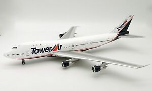 Inflight 200 If742ff0718 1/200 Tour Boeing 747-100 N608ff avec support