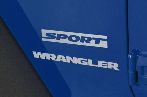 2006-2015 Jeep Wrangler Sport Decal Vinyl Stickers Decals Carbon Fiber