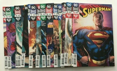 Run 2018 DC Comics: Superman #1-19, Leviathan Rising 20 books total.