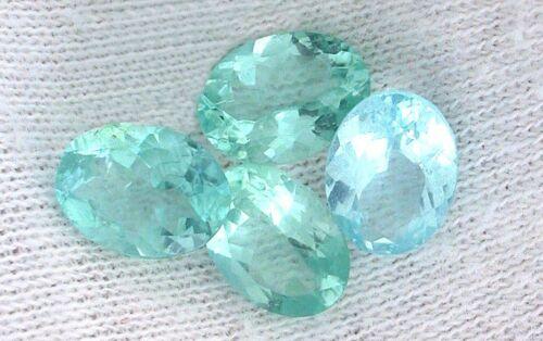 ONE 8x6 8mm x 6mm Oval Natural Blue Apatite Gem Stone Gemstone EBS7957