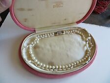 Antique-Cultured/Fresh Water Pearl14 KT-Gold-Clasp-2 necklaces /box