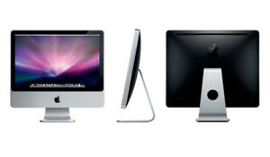 "Apple Imac 7.1 20"" Core2duo 2ghz 8gb Ram 160gb Hdd a1224-6m Warranty-grade A Desktops & All-in-ones"
