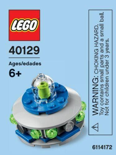 NEW Lego UFO Mini Model 40129 - Lego 40129 *Rare