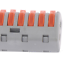 thumbnail 10 - 2/3/4/5/8 Way Reusable Spring Lever Terminal Block Electric Cable Wire Connector