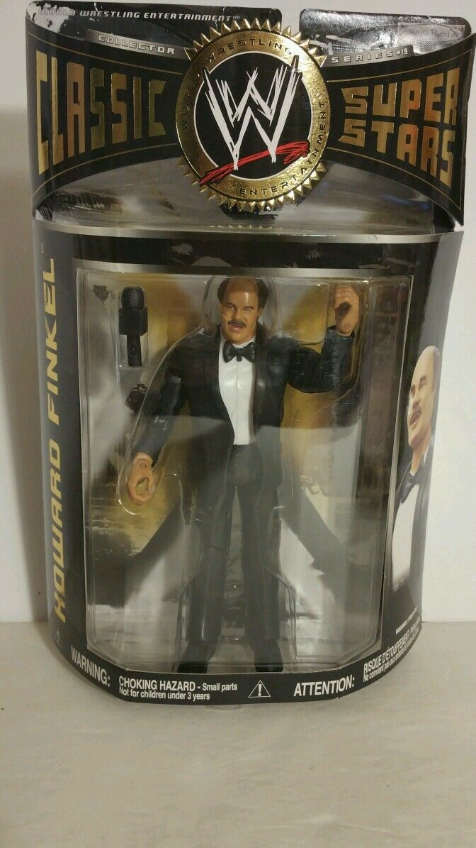 WWE HOWARD FINKEL ACTION FIGURE 081