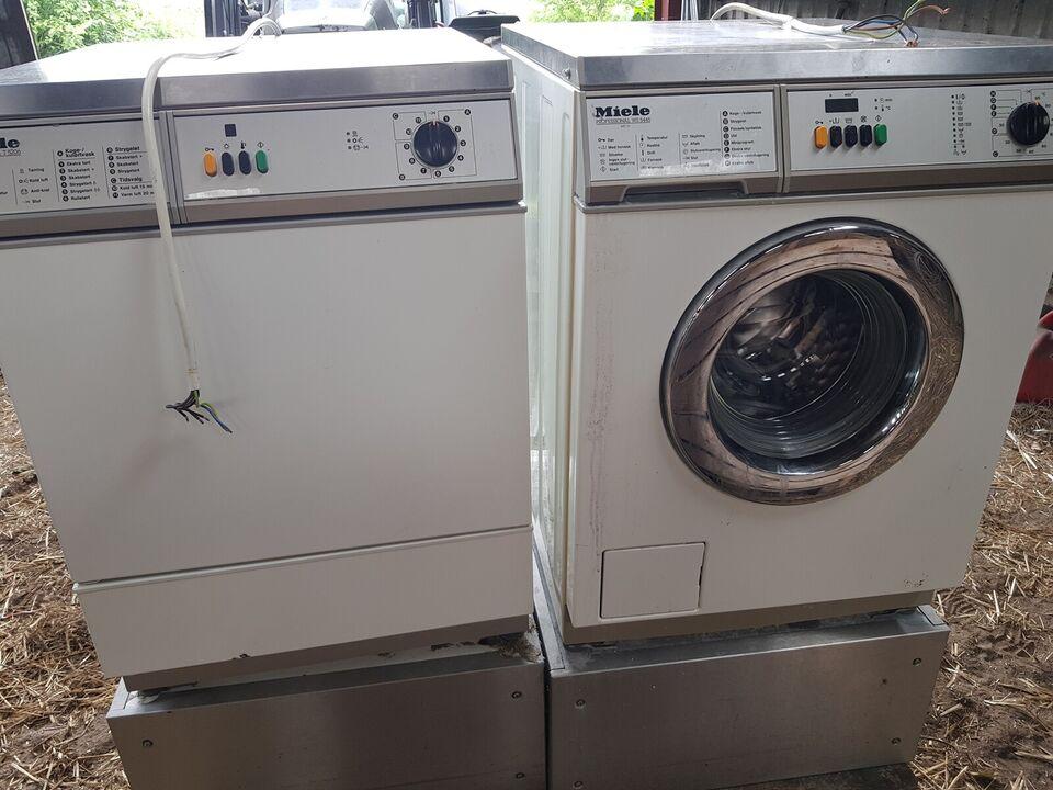 Miele vaskemaskine, 5445, frontbetjent
