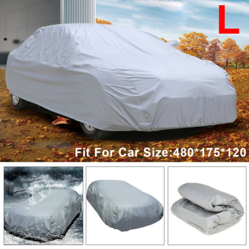 New Full Size Large Car Cover UV Protection Waterproof Breathable Universal L