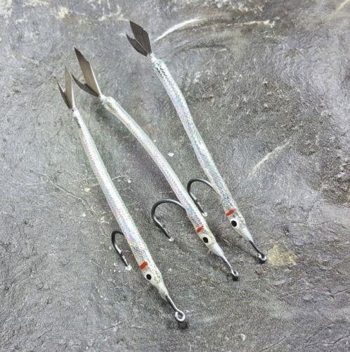 PER FLY Fishing Flies Mosche Trota Nuovo 3 x SZ 4 Cicerello/'S mortale Le mosche trota di mare