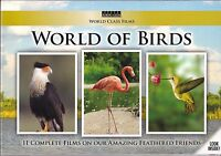 World Of Birds - 8 Dvd Box Set 11 Films Nature World Class Films Sealed