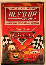 Cars Rev'd Up Target Exclusive DVD Bonus Disc Disney Pixar