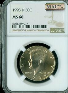 1993-P 50C Kennedy Half Dollar Gem BU