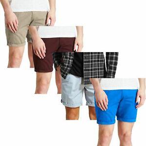 mens exmatalan chino shorts summer casual half pant