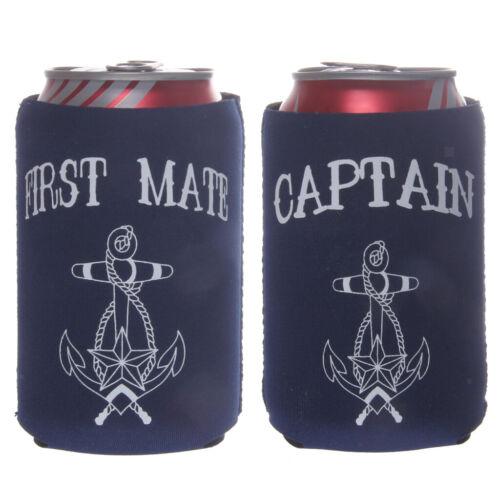 2st FIRST MATE Dosenkühler Neoprenkühler CAN Beer Ärmel Flaschenkühler