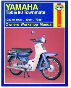 Yamaha-T50-T80-Townmate-1983-95-Repair-Haynes-Owners-Workshop-Manual