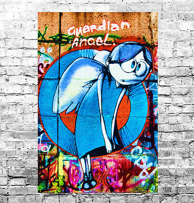 STUNNING ABSTRACT GRAFFITI POP ART CANVAS #27 QUALITY GRAFFITI PICTURE WALL ART