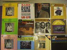 DUKE ELLINGTON RECORD COLLECTION, 16 VINYL LP'S, PERFECT CONDITION VINYL,SLEEVES