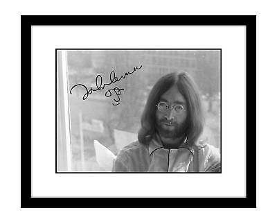 John Lennon 8x10 Signed Photo Print The Beatles Autographed